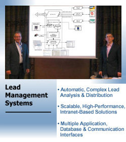 Lead Capture, Distribution and Management Systems from TactiCom